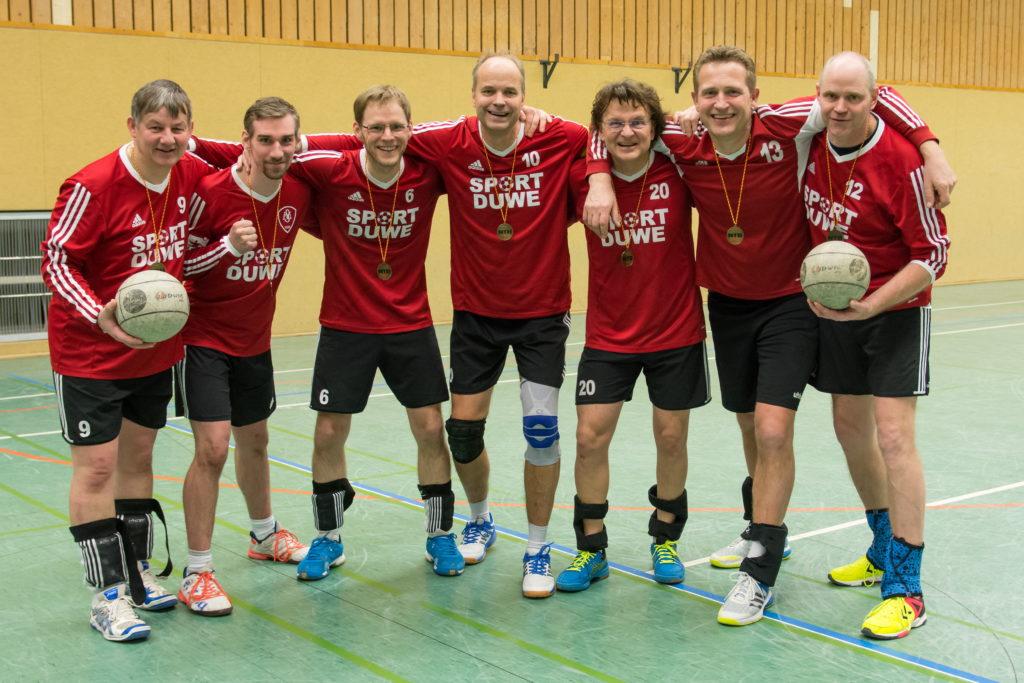 Bronzemedaille Regionalliga 19+ Halle 2017/18